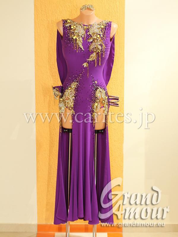GA オーダードレス・紫