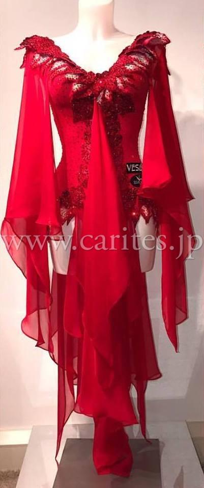 【SALE】VESA053・赤ルンバ【ユリア着用】