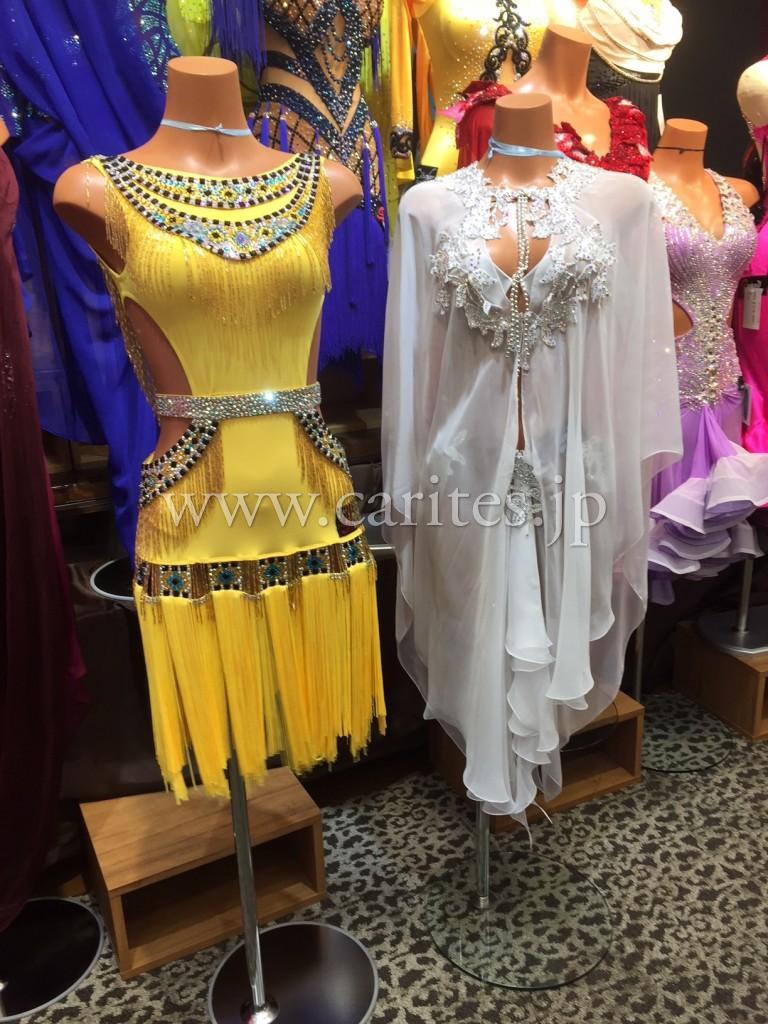 Grand Amourラテンドレス、二着到着しました!