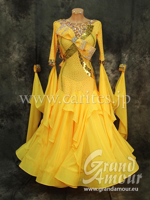GA オーダードレス・黄色
