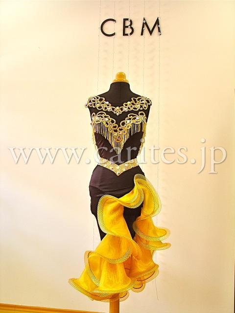 CBMオーダードレス・黒&黄