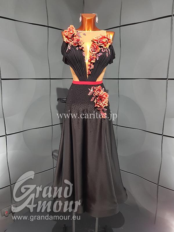 GAL215・ブラック&レッドパソドレス